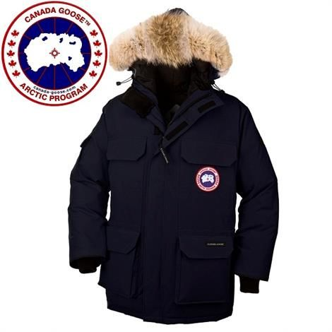 Image of   Canada Goose Mens Expedition Parka, Navy